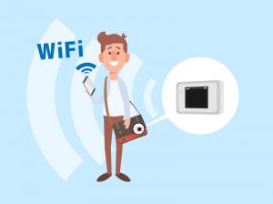 外出先でカバンにポケットWiFiを起動させておくだけで、スマホにWiFIが繋がり続ける